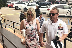 Photo for Witness At Navy SEAL Trial: I Killed Victim Out Of Mercy