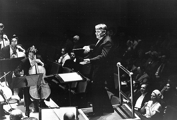 Robert Shaw in concert at Carnegie Hall, April 3, 1980.