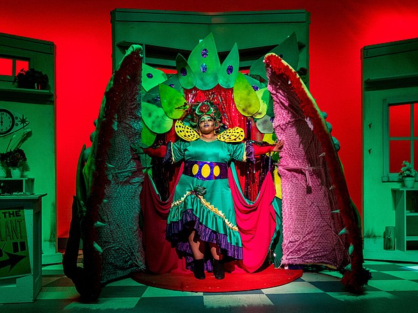 Eboni Muse brings Audrey II to life in New Village Arts T...