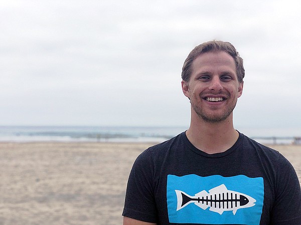 Luke Ginger, Heal the Bay's Water Quality Scientist at La...