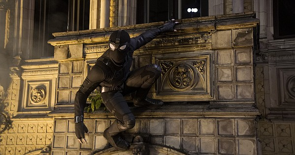 Peter Parker (Tom Holland) gets a new look in Europe for ...