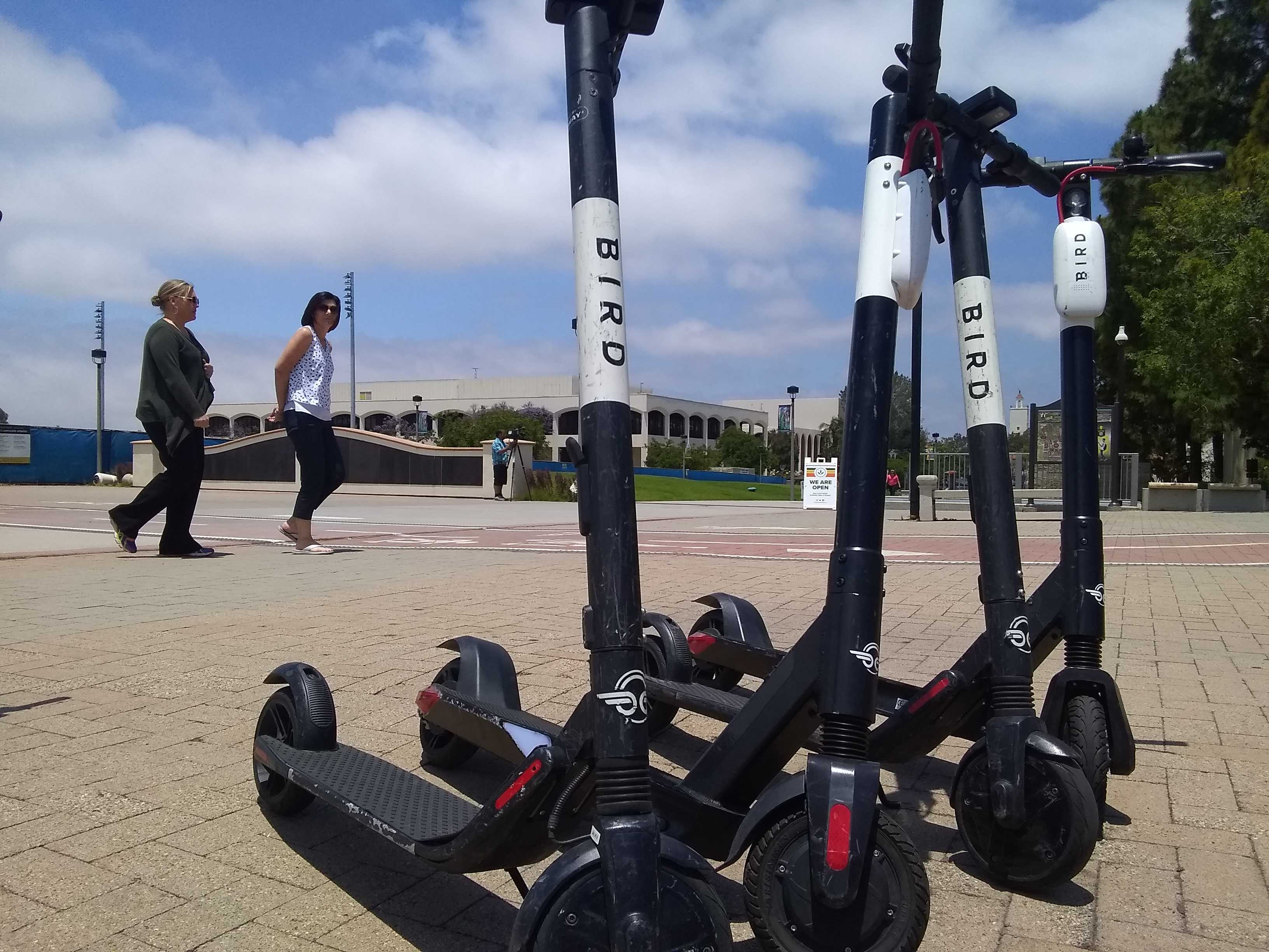 Faulconer Proposes Late-Night Curfew For Dockless Scooters