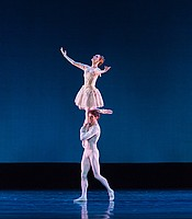 """Nutcracker Pas de Deux"" by Gillian Murphy and James Whiteside of the American Ballet Theatre. Choreographed by Alexei Ratmansky."