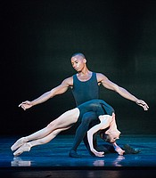 """Lieder"" performed by Melissa Hamilton and Eric Underwood of The Royal Ballet. Choreographed by Alastair Marriott."