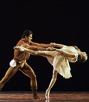 """Othello, Act III Pas de Deux"" performed by Julie Kent and Marcelo Gomes of the American Ballet Theatre. Choreographed by Lar Lubovitch."