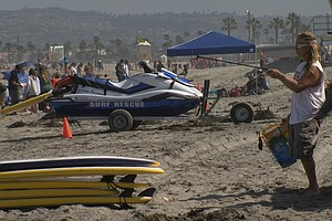 Ocean Beach Paddle Out To Focus On Clean Ocean Water
