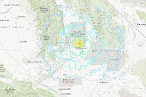 5.4 Aftershock Hits Same Southern California Area