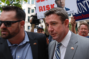 Rep. Hunter Ordered To Remove Marine Logo From Islamophob...