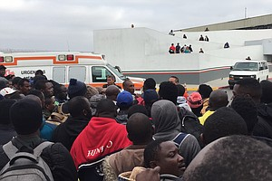 Migrants From Cameroon Protest Immigration Process In Tij...