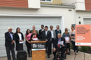 Photo for Habitat For Humanity's 'Cost Of Home' Campaign Targets 2020 Housing Bond