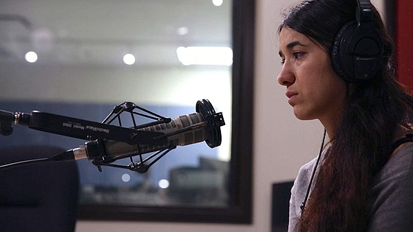 Nadia Murad (pictured), a 23-year-old Yazidi, survived ge...