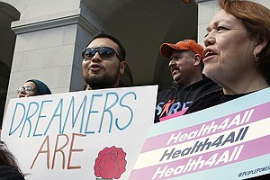 Young Undocumented Californians Cheer Promise Of Health B...