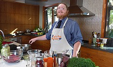 Pickle master Alan Wittenberg of Witt's Pickles...