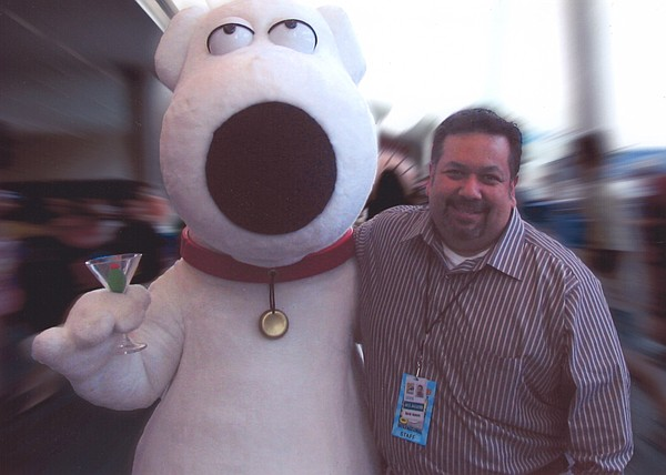 David Glanzer may be the spokesperson for Comic-Con but h...