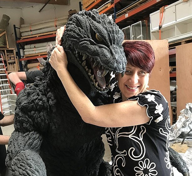 Yes I am a little bit biased when it comes to Godzilla. Here I am with the su...