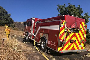 Brush Fire Breaks Out Near El Cajon