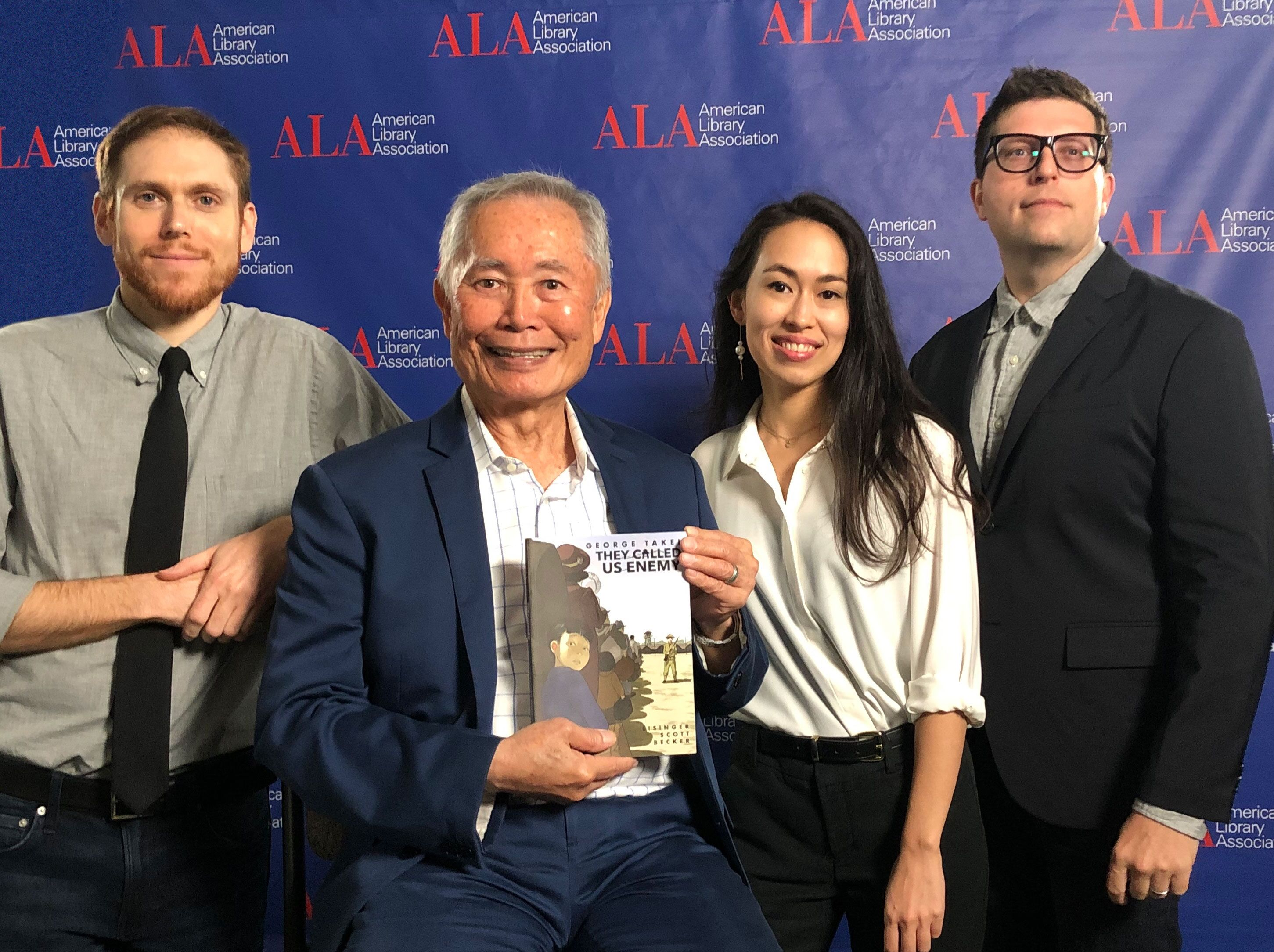 George Takei Speaking About New Graphic Novel, 'They Called Us Enemy' At Comic-Con