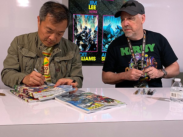 Artist and Chief Creative Officer of DC Comics Jim Lee an...
