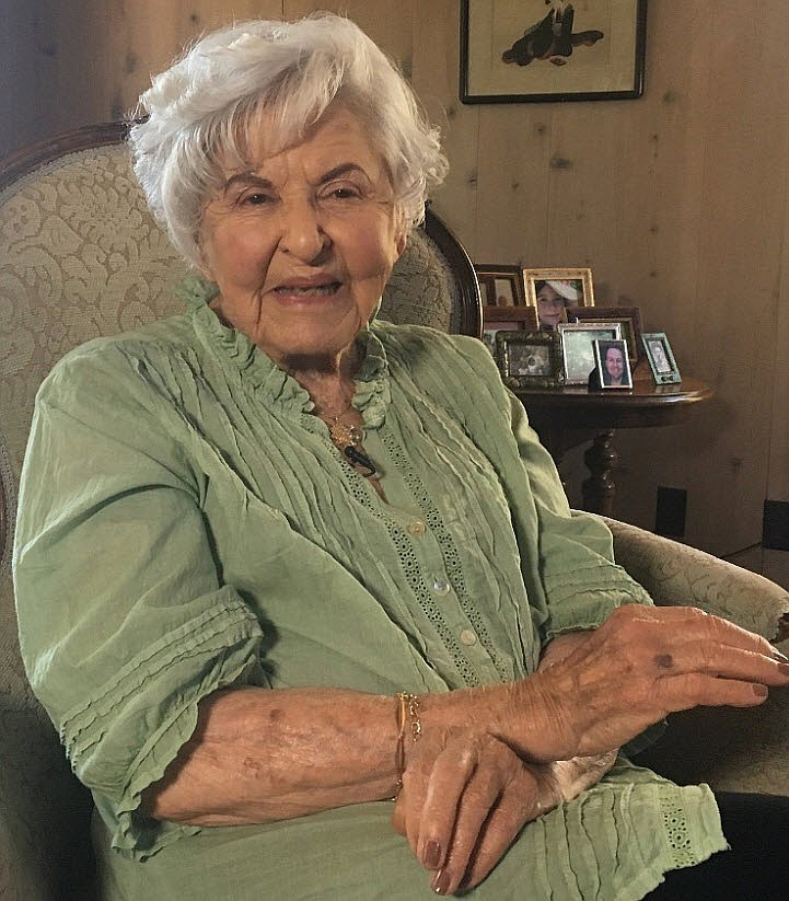Rancho La Puerta owner Deborah Szekely, 97, at her San Diego home says she st...