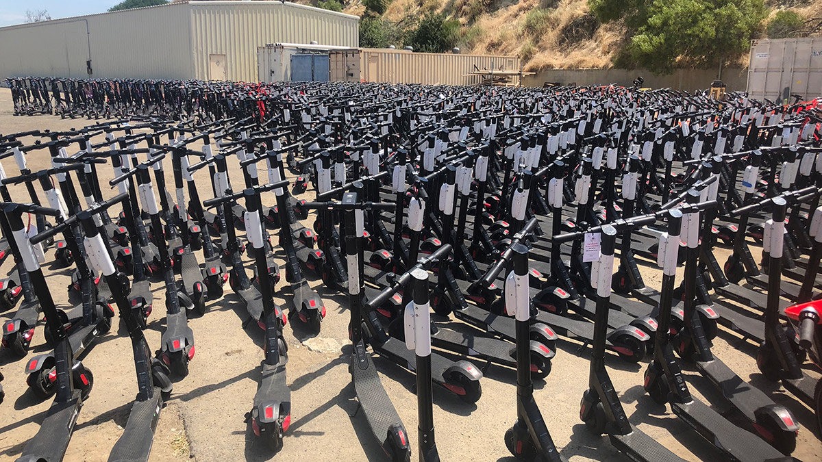 Grand Jury Faults San Diego's Response To Dockless Scooters