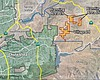 Map of the Adara development project approved b...