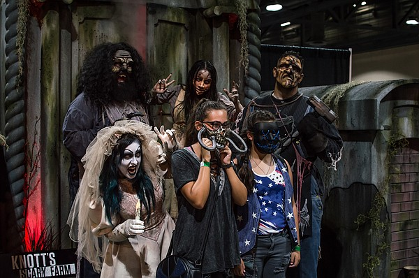 Midsummer Scream is a Halloween and haunt convention at t...