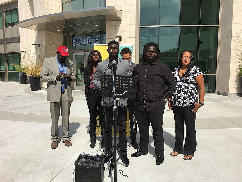 Tony Abuka speaks on the two year anniversary of the fatal shooting of his br...
