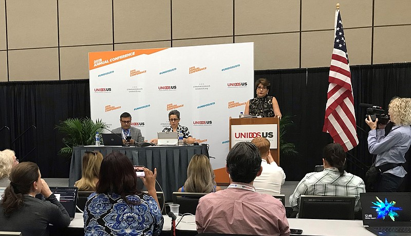 UnidosUS, a nonprofit political advocacy group for Latinos, held a press conf...