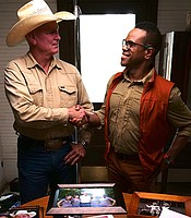 Twelve miles south of Immokalee, Fla., cowboy Clint Raulerson takes host Thomas Allen Harris through his family album on the ranch his family has worked on for three generations.