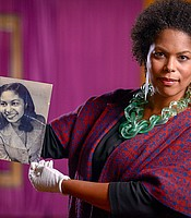 Michelle Lanier shared stories of her grandmother's legacy and her family's life in N.C.