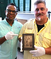 Thomas Lockyear II gave host Thomas Allen Harris a tour of the local history in Southwest Florida's Everglades.