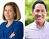 San Diego mayoral candidates Barbara Bry and To...