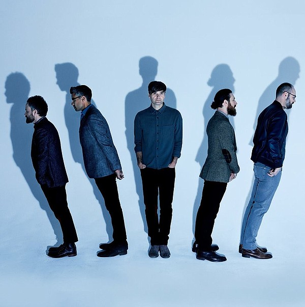 A 2018 promotional photo of the band Death Cab for Cutie.