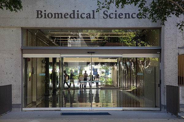The Biomedical Sciences Building at UC San Diego's School...