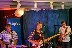 Photo for Family Rockabilly Band The Sea Monks Perform In The KPBS Studio