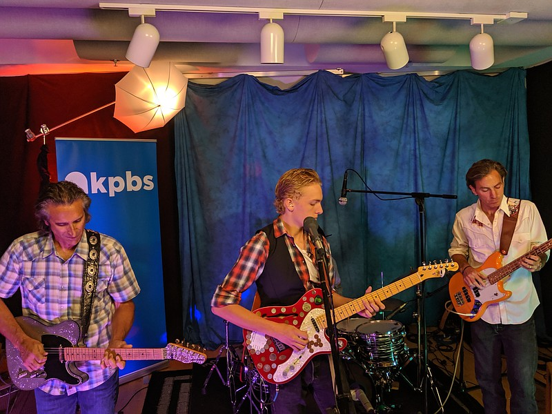 The Sea Monks perform in KPBS studios, July 23, 2019.