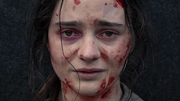 Aisling Franciosi stars as Clare, a young convict in 1825...