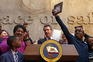 Photo for California Gov. Newsom Signs Law To Limit Shootings By Police