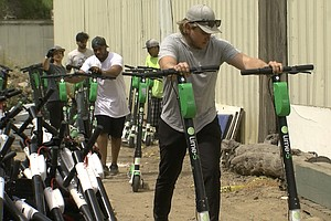 Photo for Business Report: Lime Scooters Leave San Diego