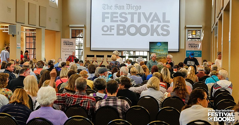 The Union-Tribune San Diego Festival of Books is pictured in this undated pho...