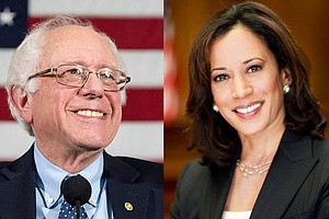 Photo for Sanders, Harris Set For showdown In Delegate-Rich California
