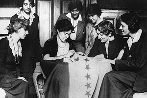 Photo for San Diego Marks 99th Anniversary Of Women Getting Right To Vote With March, R...