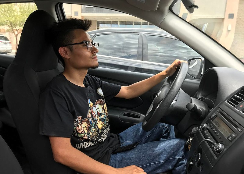 Juan Hernandez is trying to make a living in the Imperial Valley by driving f...