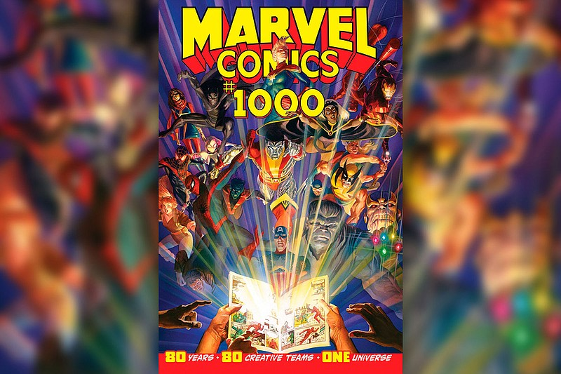 This image provided by Marvel Comics shows the cover of Marvel Comics #1000, ...
