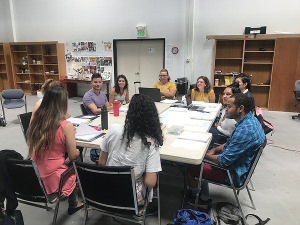 The first table read of Jordan Ramirez Pucckett's new pla...