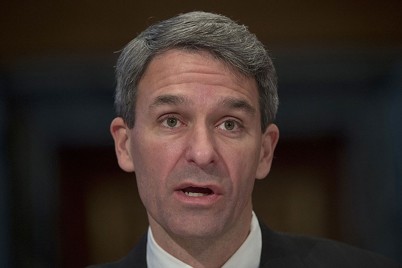 Ken Cuccinelli, seen here in 2016, was named on Monday as acting head of U.S....