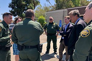 Rep. Mike Levin Tours San Diego Border Facilities