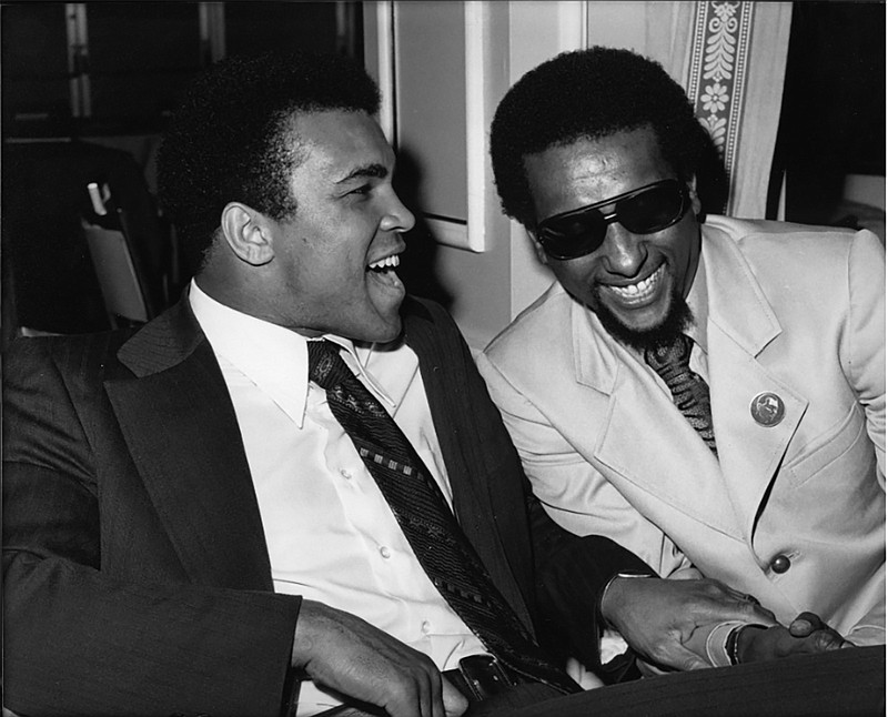 Guy Crowder, Muhammad Ali and Stokely Carmichael, Los Angeles, 1973 Photograp...