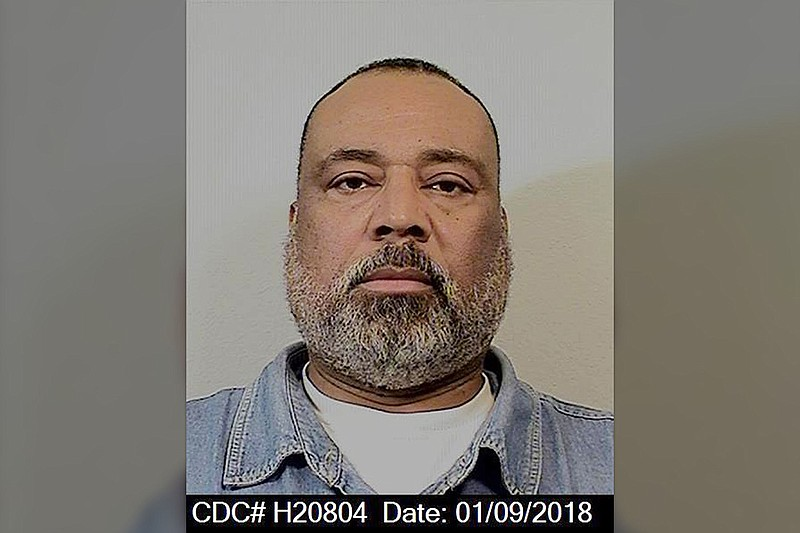 Edward Victor Shell, 54, in a California Department of Corrections and Rehabi...