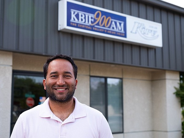 Gurdepp Shergill, who hosts a weekend show on KBIF, is pi...
